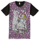 Vintage Alice in Wonderland Deck of Cards Tee