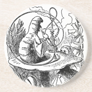 Vintage Alice in Wonderland Hookah Caterpillar Coaster