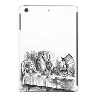 Vintage Alice in Wonderland Mad Hatter tea party iPad Mini Retina Case