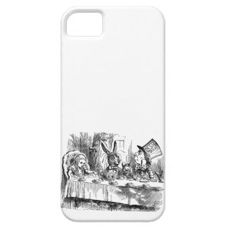 Vintage Alice in Wonderland Mad Hatter tea party iPhone 5 Cover