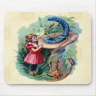 Vintage Alice In Wonderland Mousepad