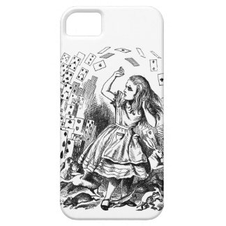 Vintage Alice in Wonderland Pack of cards iPhone 5 Cover