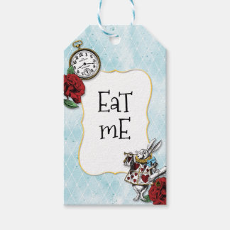 Alice in wonderland gift tags zazzle vintage alice in wonderland party shower gift tags pronofoot35fo Gallery