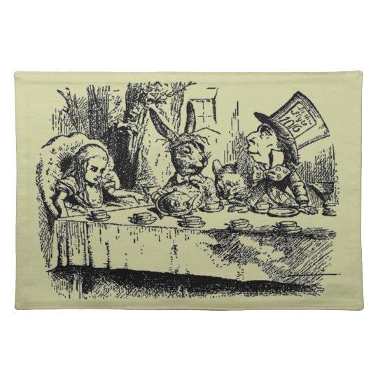 Vintage Alice in Wonderland Placemats