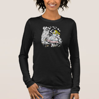 Vintage Alice in Wonderland Playing Cards T-Shirt