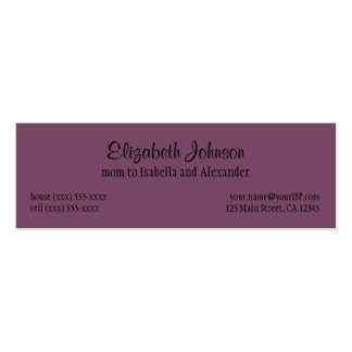 Vintage Alice in Wonderland, Queen of Hearts Business Card Template