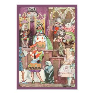 Vintage Alice in Wonderland, Queen of Hearts Announcement