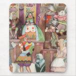 Vintage Alice in Wonderland, Queen of Hearts Mousepads