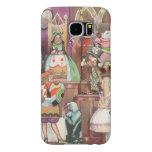 Vintage Alice in Wonderland, Queen of Hearts Samsung Galaxy S6 Cases