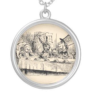 Vintage Alice in Wonderland, Tea Party Scene Jewelry
