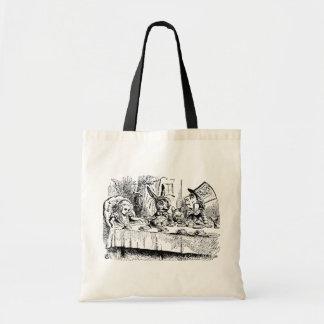 Vintage Alice in Wonderland, Tea Party Scene Bags