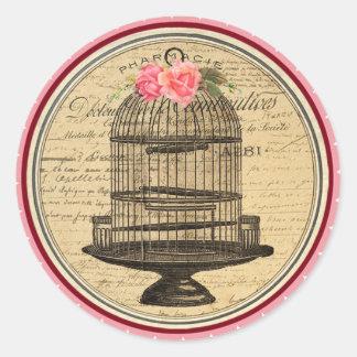 Vintage Alice in Wonderland Tea Party Stickers