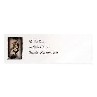 Vintage Alice inn Wonderland Ballet Pack Of Skinny Business Cards