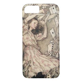 Vintage Alices Adventures in Wonderland by Rackham iPhone 8/7 Case