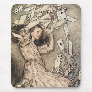 Vintage Alices Adventures in Wonderland by Rackham Mouse Pad