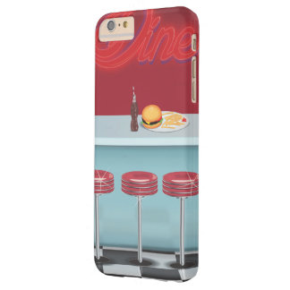 Vintage All American Diner Barely There iPhone 6 Plus Case