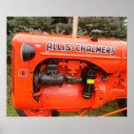 Vintage Allis-Chalmers Print