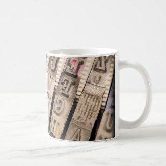 Vintage Alpha Coffee Mug