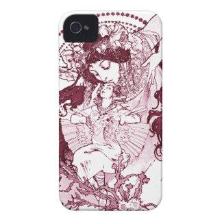 Vintage Alphonose Mucha Art Case-Mate iPhone 4 Case