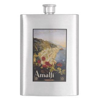 Vintage Amalfi Italy flask