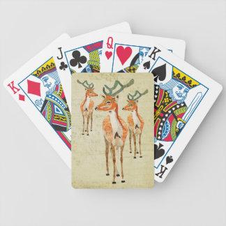 Vintage Amber Bucks Card Deck
