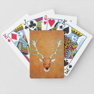 Vintage Amber Stag Card Deck