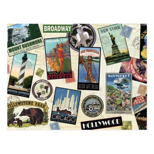 Vintage America Travel postcard