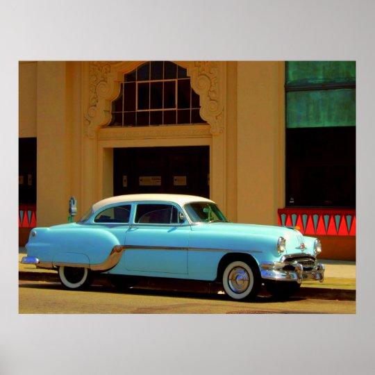 Vintage American Auto Poster