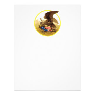 Vintage American Bald Eagle w/Shield Flyer