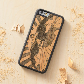 Vintage American Eagle 1898 Carved Cherry iPhone 6 Bumper Case