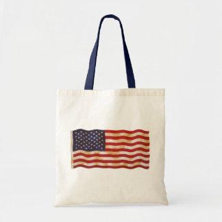 Vintage American Flag 13 Bag