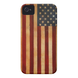 Vintage American Flag iPhone 4 Case-Mate Case
