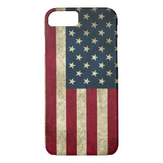 Vintage American flag iPhone 8/7 Case