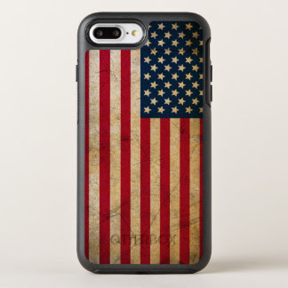 Vintage American Flag OtterBox Symmetry iPhone 7 Plus Case