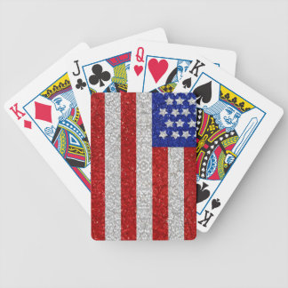 Vintage American Flag Playing Cards