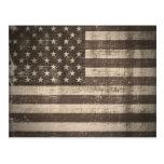 Vintage American Flag postcards