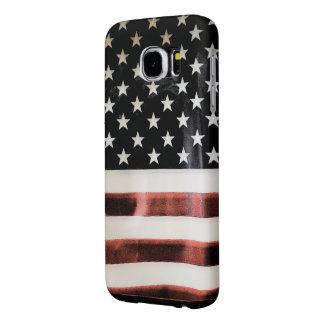 Vintage American Flag Samsung6 case template