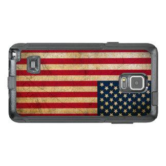 Vintage American Flag Samsung Galaxy Note 4 Case