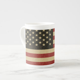 Vintage American Flag Tea Cup