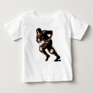 Vintage American Football Player Baby T-Shirt