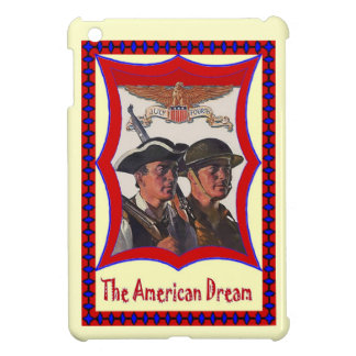 Vintage AMerican Image, Independence, 4th July iPad Mini Cases
