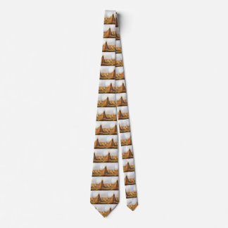 Vintage American West, Teepees on Plain by Bodmer Tie