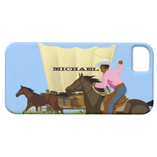 Vintage American Wild West Cowboy Life iPhone Case iPhone 5 Case
