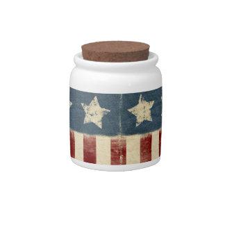 Vintage Americana Candy Jar