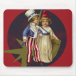 Vintage Americana Mouse Pads