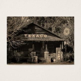 Vintage Americana Texaco Photo ATC