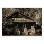 Vintage Americana Texaco Photo ATC Pack Of Chubby Business Cards