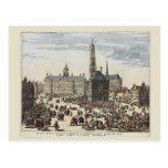Vintage Amsterdam,City hall Postcards