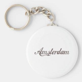 Vintage Amsterdam Key Ring