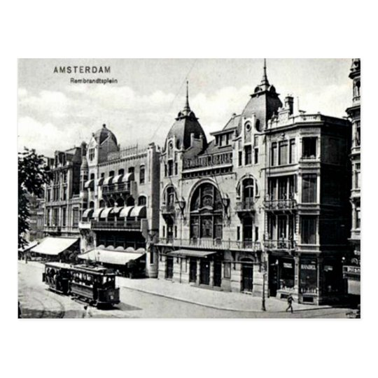 Vintage Amsterdam Postcard